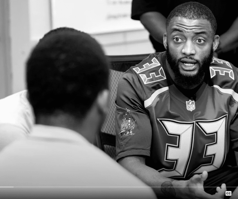 Hillsborough Education Foundation and Tampa Bay Buccaneers Mentoring Program